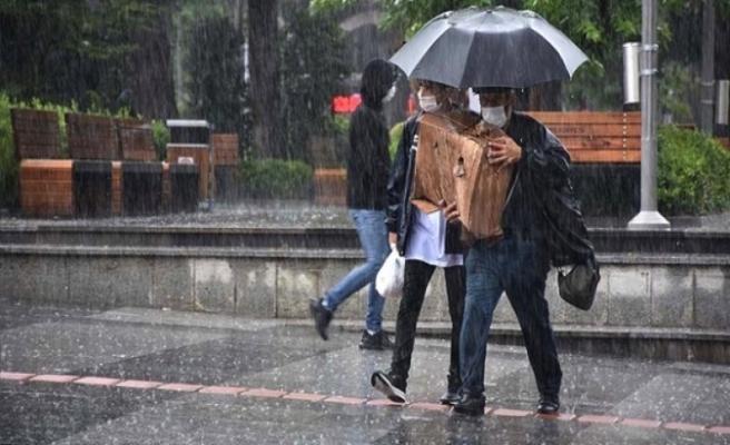 İstanbul'un kuzey kesimlerinde sağanak bekleniyor