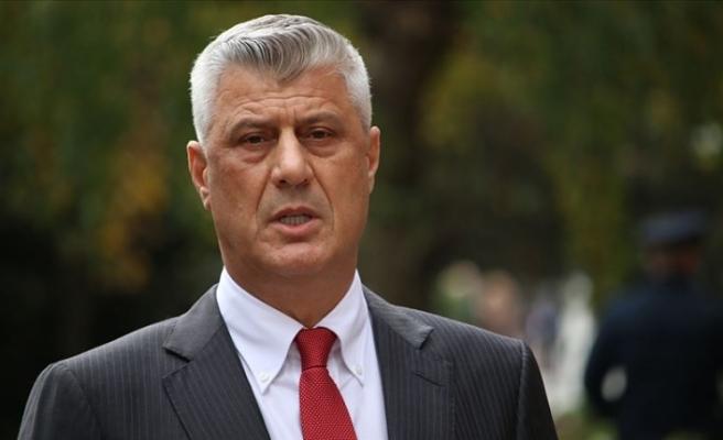İstifa eden Kosova Cumhurbaşkanı Thaçi Lahey'de hakim karşısında