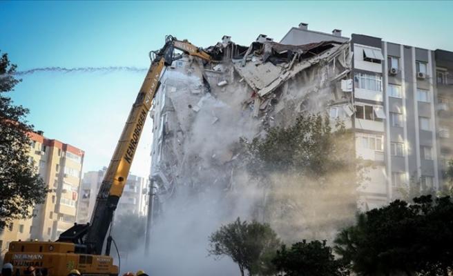 İzmir'deki depremde ölü sayısı 114'e yükseldi