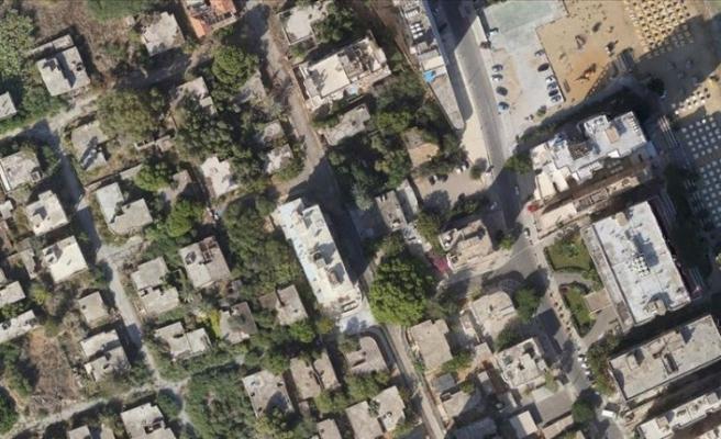 Kapalı Maraş'ın havadan fotoğrafları çekildi