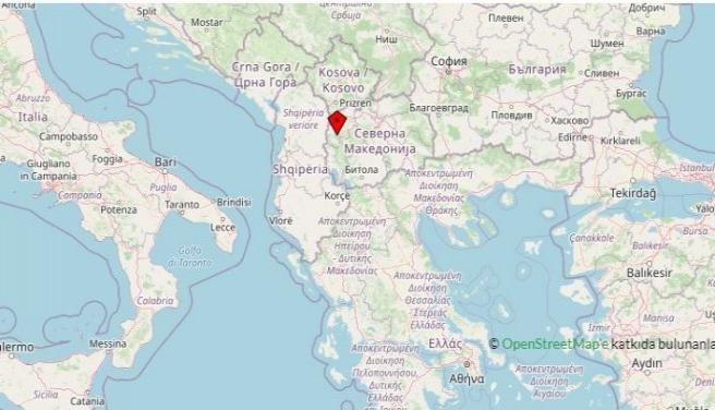 Kuzey Makedonya beşik gibi sallandı