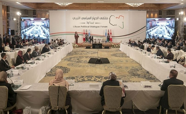 Diyalog Konferansı'nda Libya'da 18 ay içerisinde erken seçim yapılmasına karar verildi