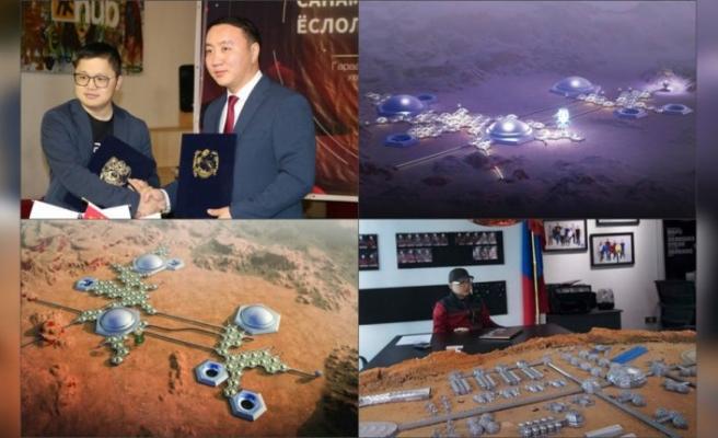 Moğol Gobi'sinde Mars şehri inşa edilecek