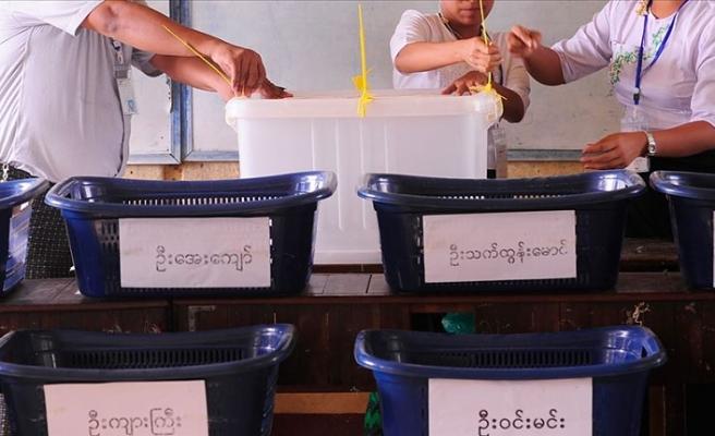 Myanmar'da ana muhalefet partisi seçimlere itiraz ediyor