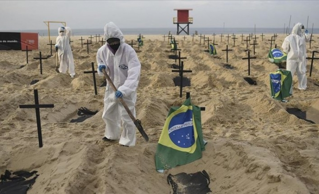 Pandemide Latin Amerika ülkelerinde son rakamlar