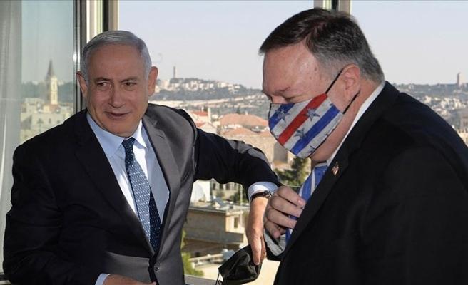 ABD Dışişleri Bakanı Pompeo, işgal altındaki Golan Tepeleri'ni ziyaret etti