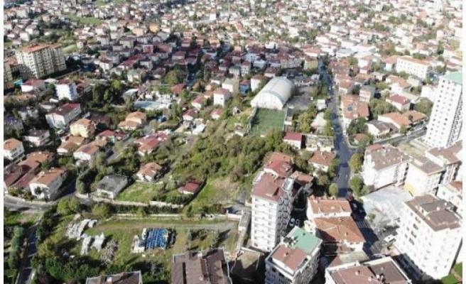 Riskli ilan edilen Ümraniye Elmalıkent Mahallesi'nde kentsel dönüşüm başlıyor