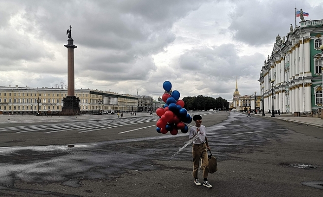 Rusya'da vaka sayısındaki günlük artış oranı yüzde 1,2