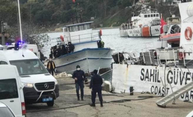 Sinop'tan Romanya'ya göçmen teknesi