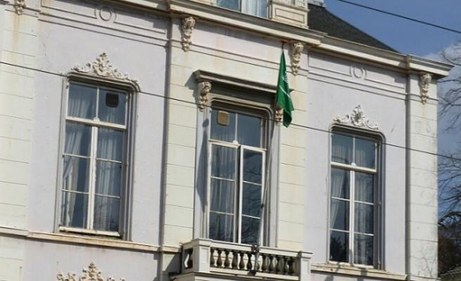 Suudi Arabistan'ın Lahey Büyükelçiliğine saldırı!
