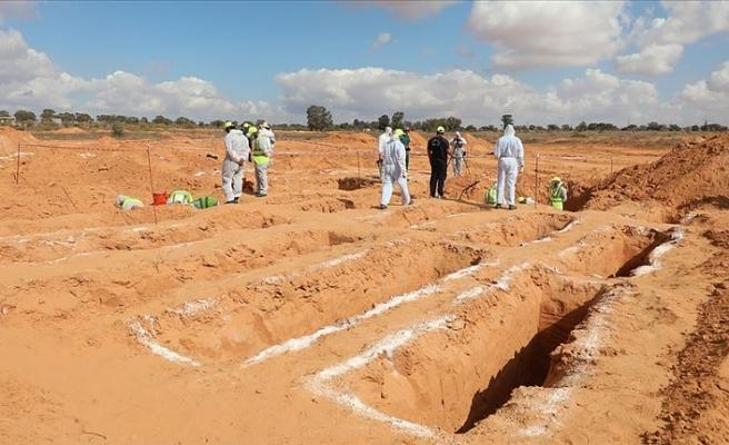 Libya'nın Terhune şehrinde bir toplu mezar daha tespit edildi!