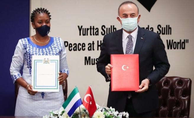 Türkiye ve Sierra Leone arasında yeni anlaşmalar