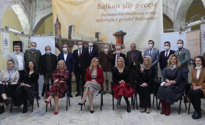 TYB İstanbul Şubesi'nde 'Balkan Şiir Gecesi' düzenlendi