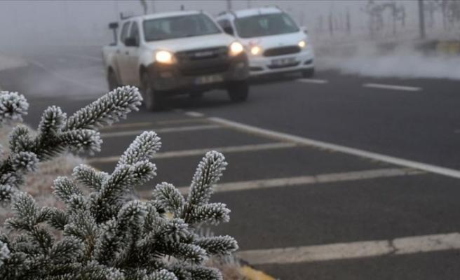 Van, Bitlis, Muş ile Hakkari'de buzlanma bekleniyor