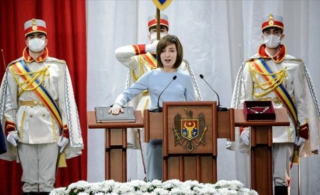 Yeni Moldova Cumhurbaşkanı görevine başladı