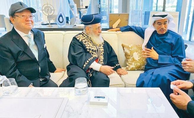 İsrail'in Başhahamı Dubai'de