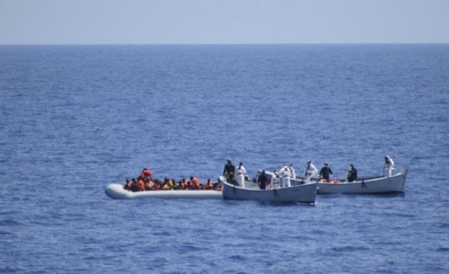 Avrupa'ya  gitmeye çalışan 127 sığınmacı yakalandı