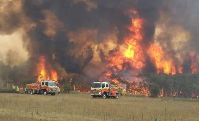 Avustralya'nın Fraser Adası'ndaki yangın yerleşim yerlerini tehdit ediyor