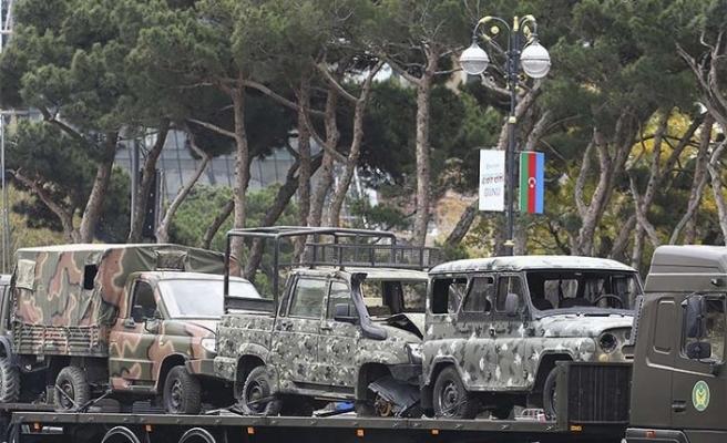 Ermenistan'ı kızdıracak görüntü! Zafer geçidinde ortaya çıktılar