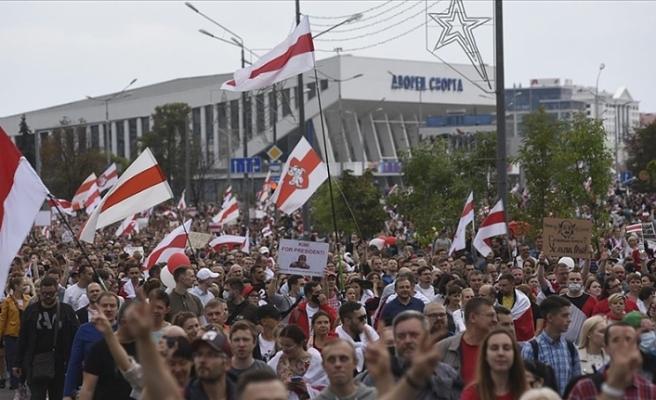 BM'den Belarus'a protestocuları serbest bırakın çağrısı