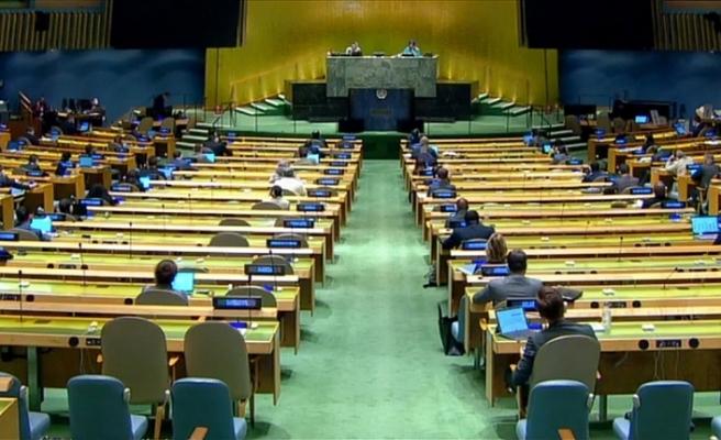 BM Genel Kurulu'nda Filistin lehine 6 karar kabul edildi