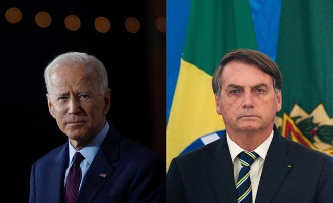 Brezilya Devlet Başkanı Bolsonaro, Joe Biden'ı tebrik etti