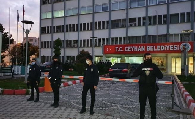 Ceyhan Belediyesi'ne rüşvet operasyonu: 23 gözaltı