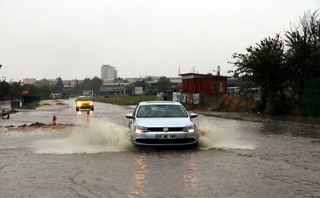 Edirne'deki yağışlar için açıklama geldi.