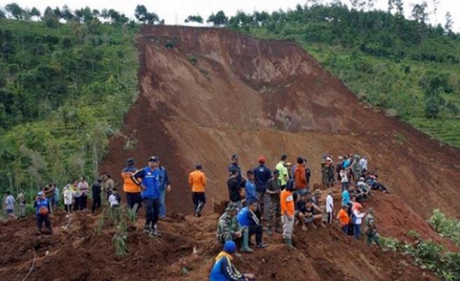 Endonezya'da altın madeninde heyelan: 4 ölü