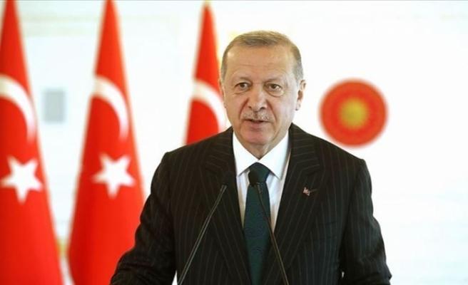 Cumhurbaşkanı Erdoğan'dan Birleşmiş Milletler Genel Kurulu'na Kovid-19 mesajı
