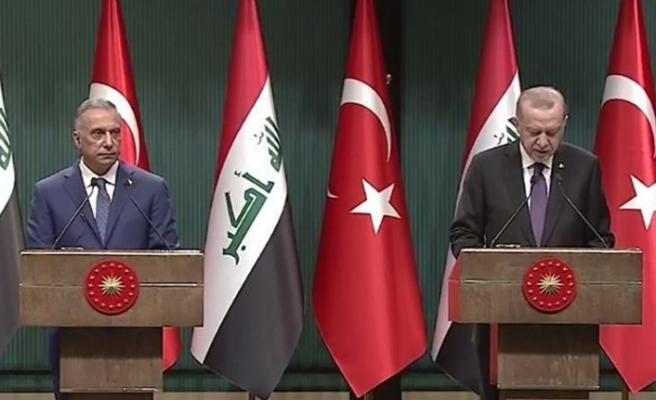 Cumhurbaşkanı Erdoğan: Irak makamlarının PKK'ya karşı yürüttüğü operasyonları takdirle karşılıyoruz