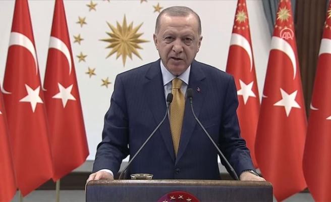 Erdoğan'dan Arnavutlar'a mesaj