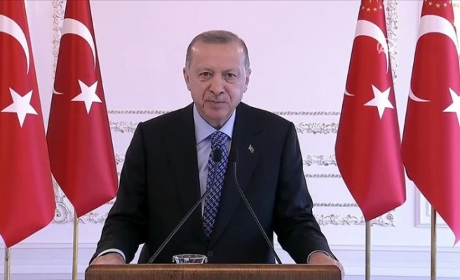 Erdoğan: Azerbaycan bayrağı Dağlık Karabağ'da gururla dalgalanıyor