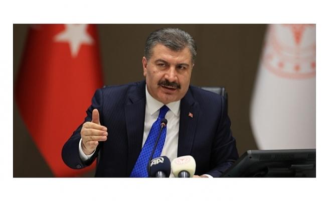 Sağlık Bakanı Fahrettin Koca: Adana, Samsun ve Ordu'da vaka sayısı artmaya devam ediyor