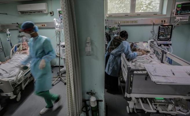 Filistin'de salgında vaka sayısı 131 bini aştı