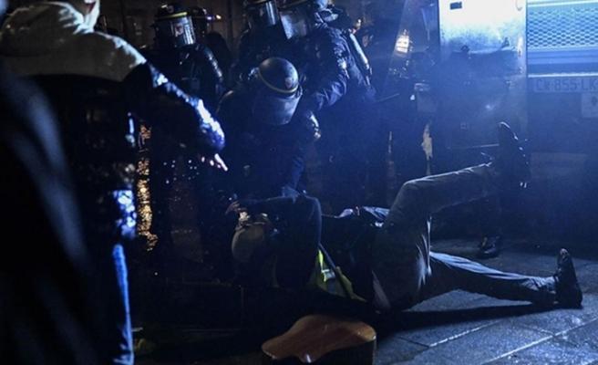 Fransa polisinden itiraf: Şiddet uyguladık