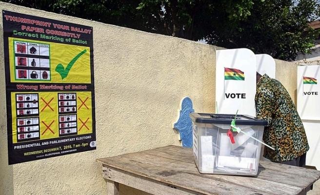Gana halkı sandık başına gidiyor