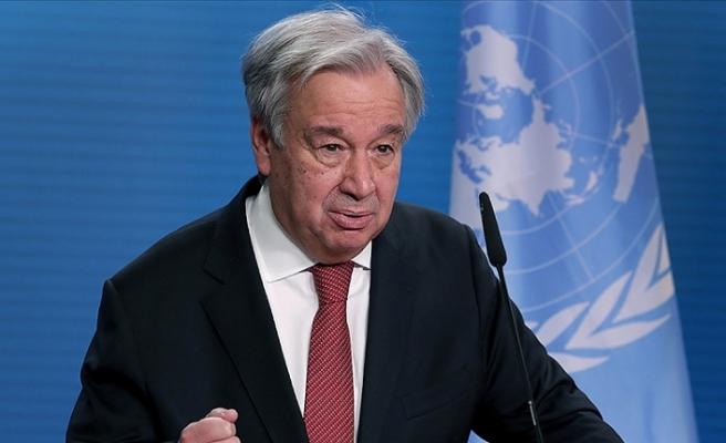 Guterres'ten Kovid-19'la mücadelede uluslararası iş birliği vurgusu