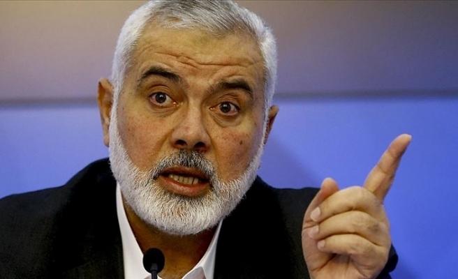 Hamas lideri Heniyye'den İslam ve Arap ülke liderlerine mektup