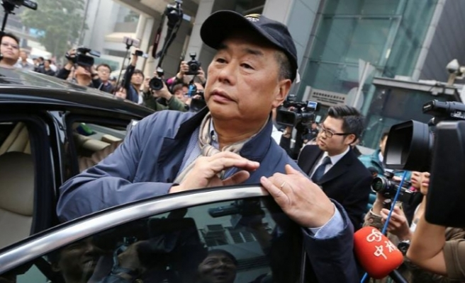 Hong Kong'da tutuklu medya patronunu  kefaletle serbest bırakılma talebi reddedildi