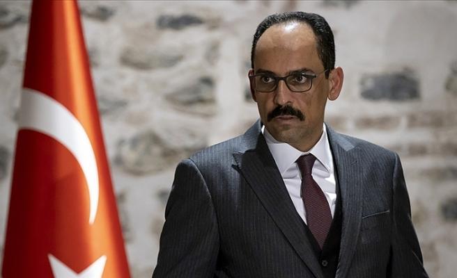 Cumhurbaşkanlığı Sözcüsü İbrahim  Kalın AB'ye tepki gösterdi