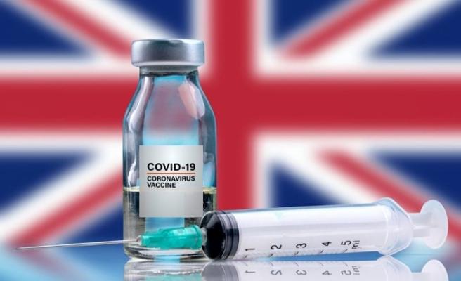 İngiltere'de Kovid-19 aşısının ilk dozunu yaptıranların sayısı 600 bini geçti