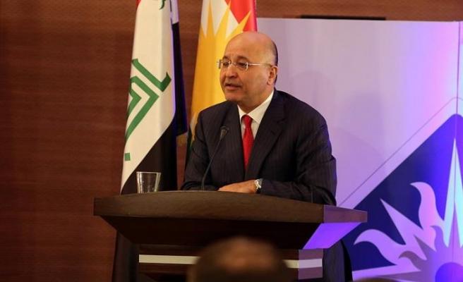 Irak Cumhurbaşkanı'ndan güvenlik güçlerine çağrı