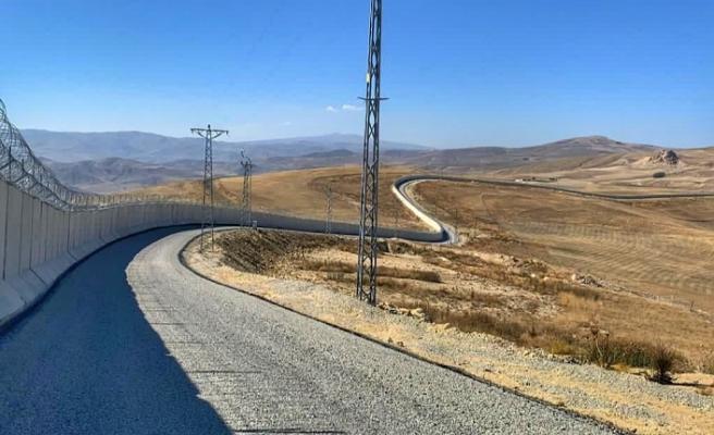 İran sınırındaki güvenlik duvar tamamlandı