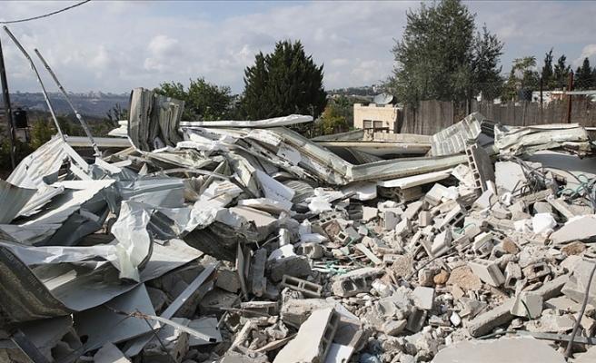 İsrail, yıktığı evlerin masraflarını Filistinlilerden tahsil ediyor