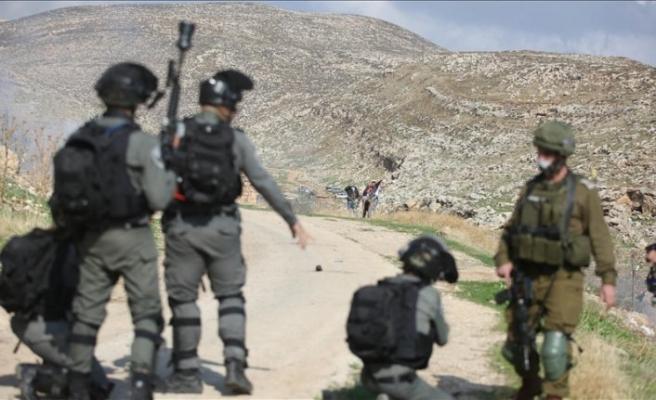 İsrail güçleri Şeria'nın batısında 5 Filistinliyi yaraladı