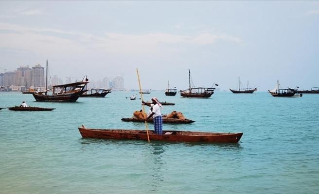 Katar'daki Geleneksel Ahşap Tekne Festivali eski zamanlara götürüyor
