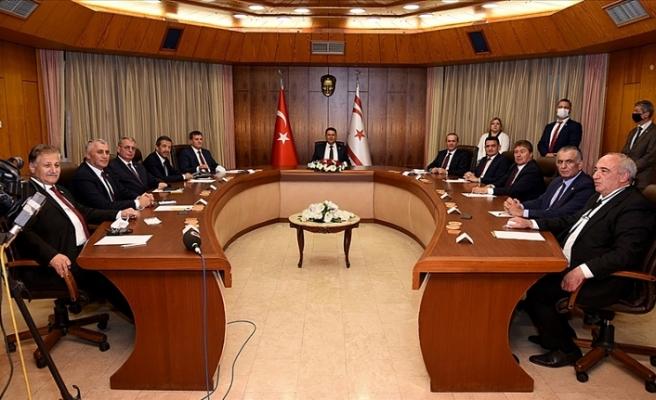 KKTC'de yeni hükümet ilk Bakanlar Kurulu Toplantısı'nı gerçekleştirdi