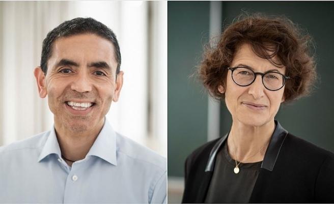 Kovid-19 aşısını bulan Almanya'daki Türk çift, ABD medyasında yer almaya devam ediyor