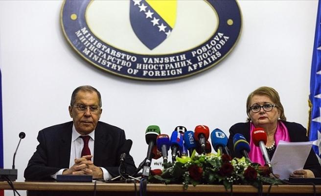 Rusya Dışişleri Bakanı Lavrov Bosna Hersek Dışişleri Bakanı ile görüştü